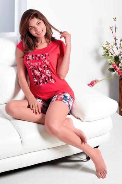 82053d071f72d Ladies T-Shirt and Shorts Set Wholesale Suppliers in Surat Gujarat ...