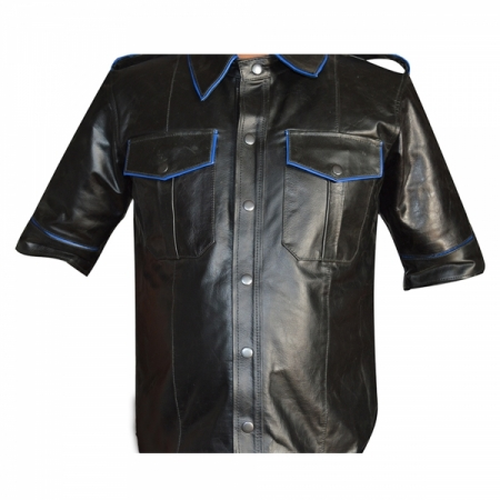 Mens Leather Shirts Manufacturer In Sialkot Pakistan By
