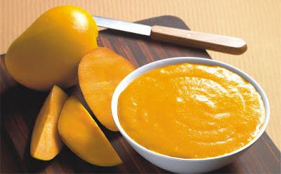 fresh alphonso mango pulp (KGC-AMP-897)