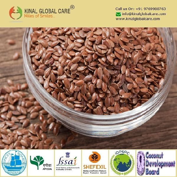 Indian Best Quality Flax Seeds (KGC-FS-041)