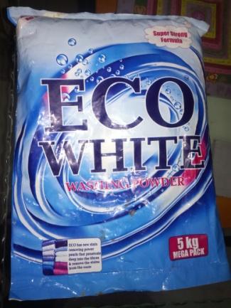Eco White Detergent Powder