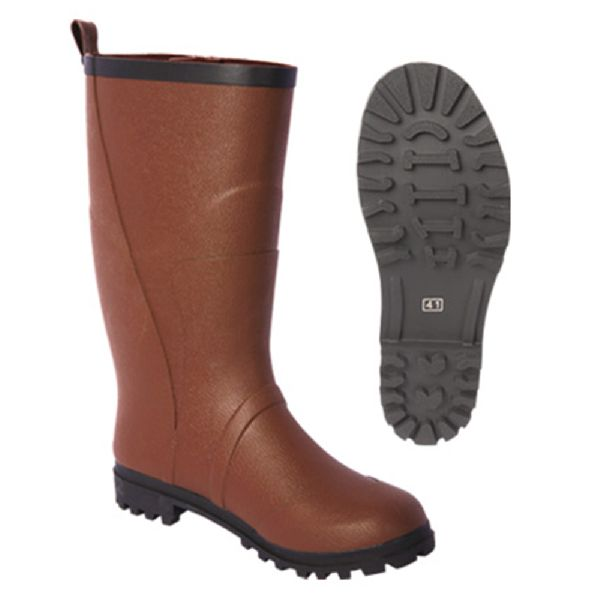 3c3674c0ba17 Men Brown Color Rubber Boots Manufacturer in China by ...