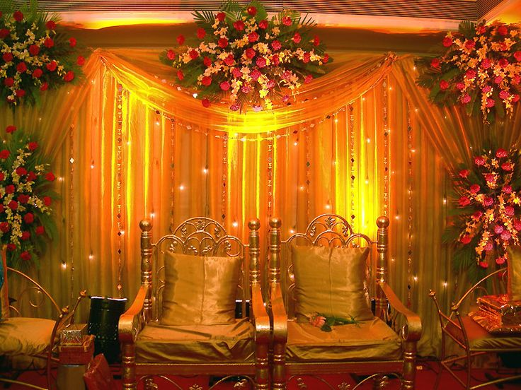 Simple Flower Decoration In Marriage Flowers Healthy