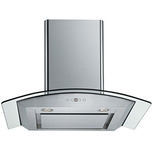 Chimney hood vent small corner wash basin