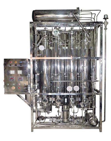 multicolumn distillation plant