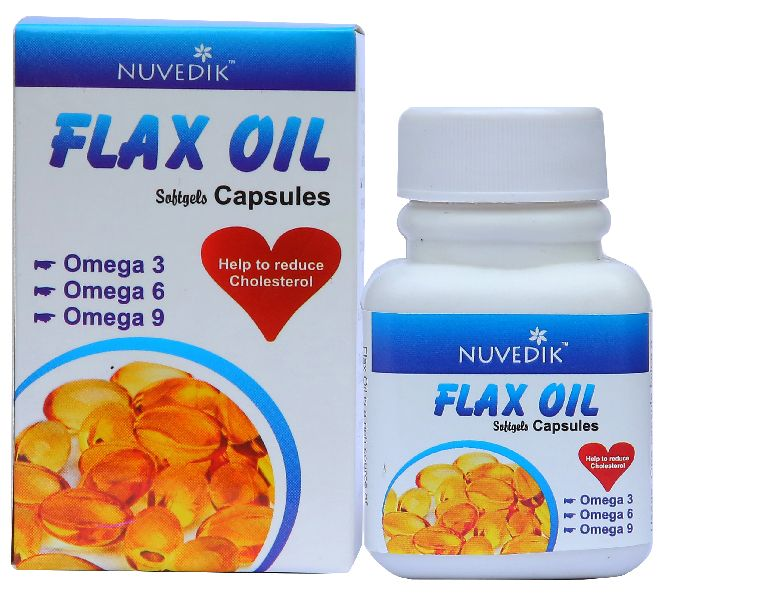 Flaxseed Oil Omega 3 Capsules Manufacturer In Delhi India By
