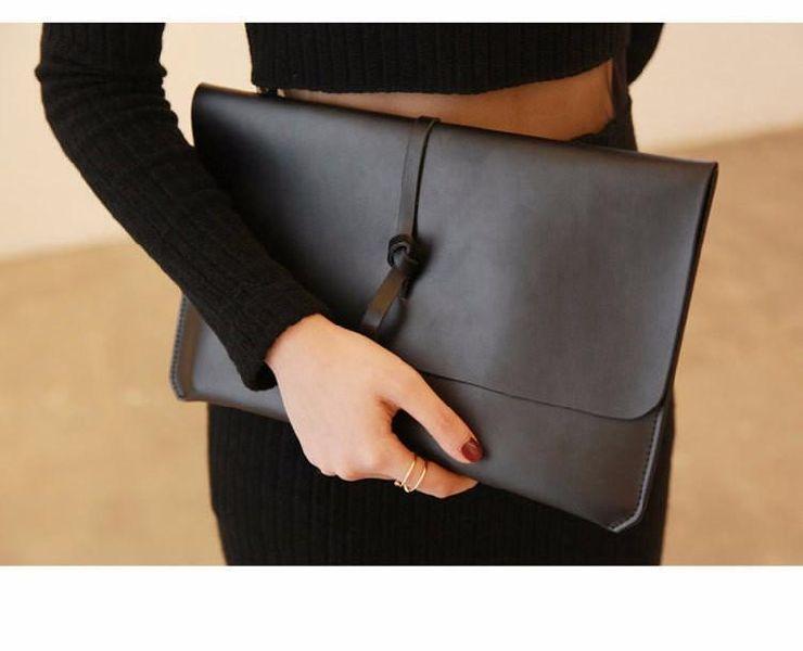Ladies Leather Clutch Purse