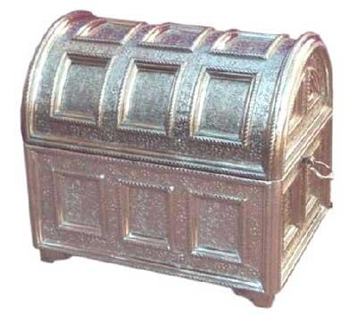 White Metal Jewellery Box (White Metal Jeweller)