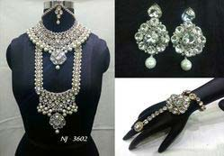 Bridal Jewelry Stone Necklace Set