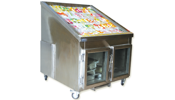 Commercial Refrigeration JUICE DISPLAY