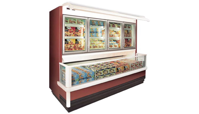 Hypermarket MULTIDECK FREEZER, Supermarket MULTIDECK FREEZER