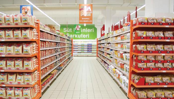 Supermarket WALL AND GONDOLA SHELVING UNITS