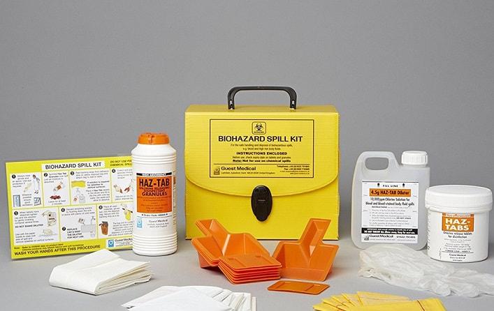 Large Biohazard Chemical Spill Kit