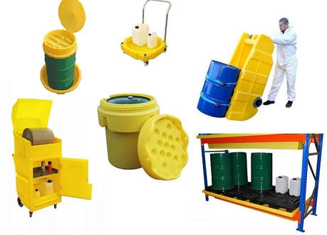 Spill Containment Drum Lids and Funnels
