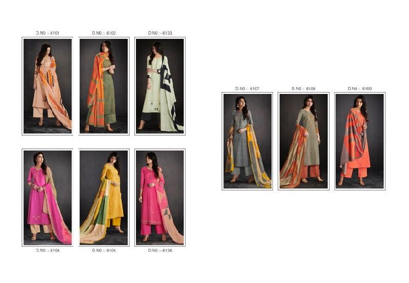 ganga enaya cotton printed suits