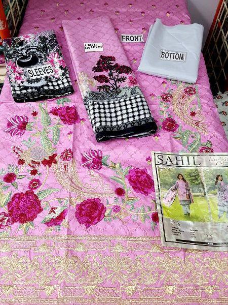 sahil vol 5 embroidered lawn pakistani suits