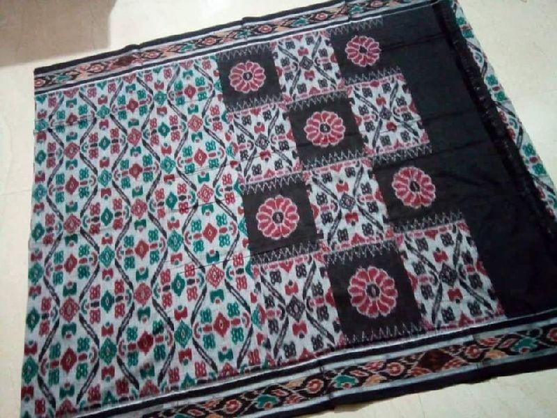 Sambalpuri Handloom Double Ikkat Cotton Sarees