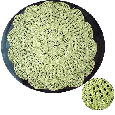 Crochet Table Mat Manufacturer Exporters From Panipat India Id