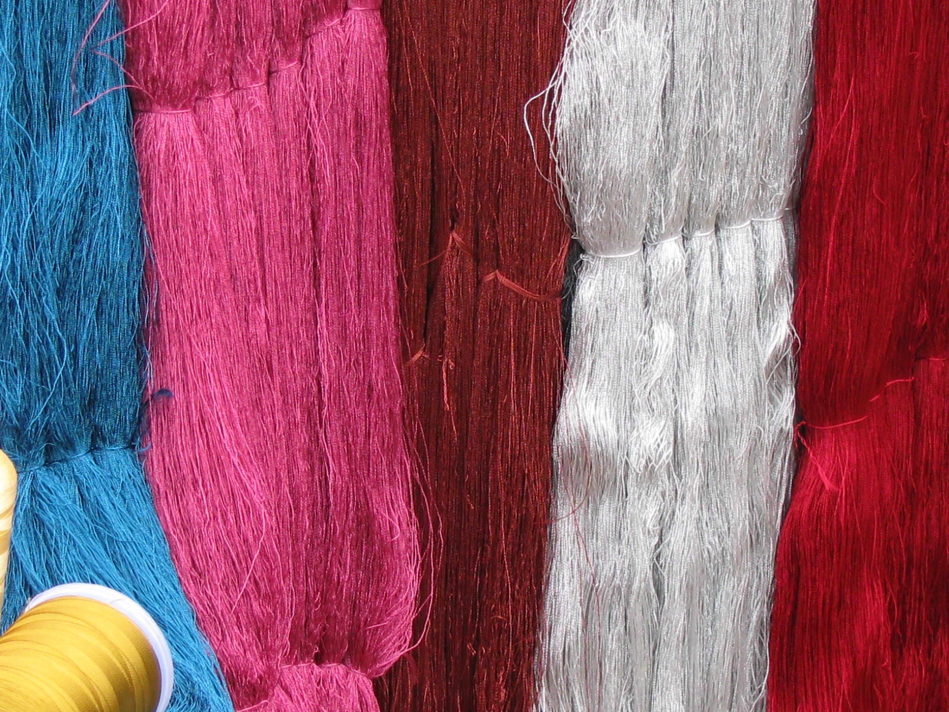 Viscose Rayon Embroidery Yarn On Hank (120d/2 Hank)