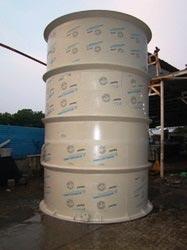 Thermoplastic Chemical Storage Tanks