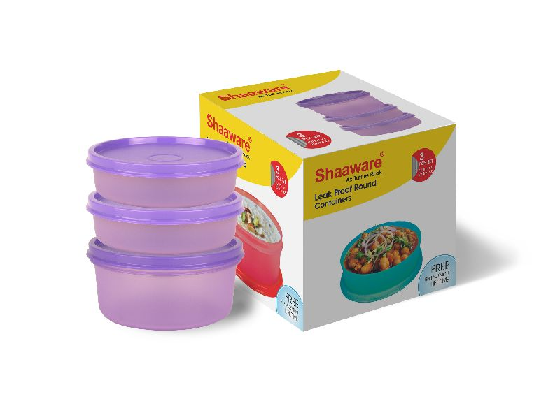 Plastic Leakproof Lunch Boxes
