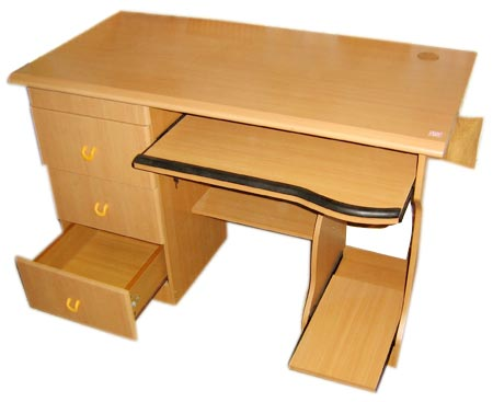 buy wooden computer table whf 302 from white house furnitures