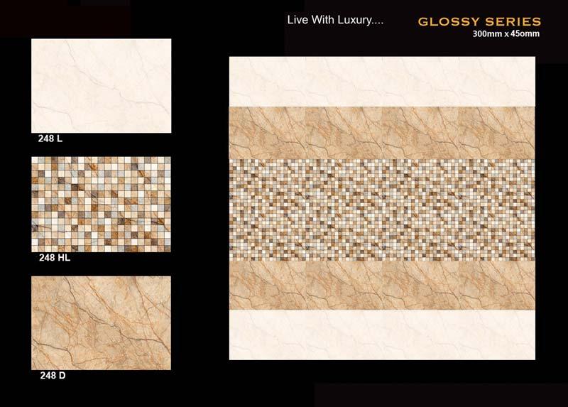 Digital Ceramic Wall Tiles For Kitchen Bathroom Elevation Living Room