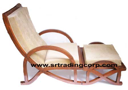 wooden relaxing chair manufacturer in moradabad uttar pradesh india
