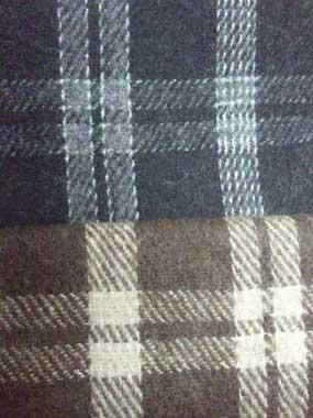 Check Woollen Fabric 04 (Check Woollen Fabric)