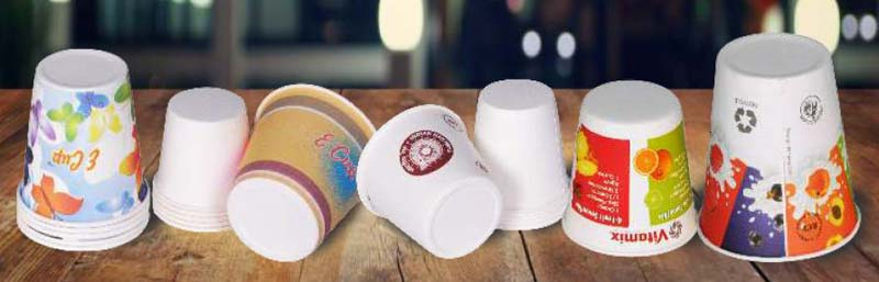 Flat Bottom Paper Cup