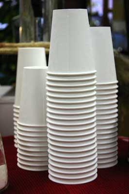 disposable Paper Cups : SNC-WPC-02 (Item Code : SNC-WPC-)