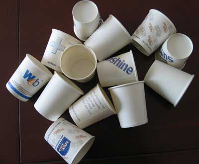 disposable Paper Cups : SNC-WPC-03 (Item Code : SNC-WPC-)