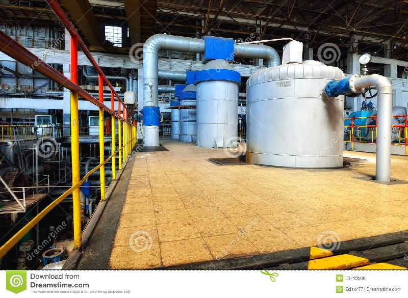 thermal power plant machinery