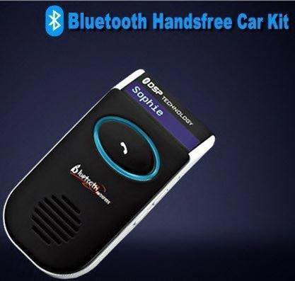 033 Car Bluetooth Handsfree Kit with Solar Charger (033)