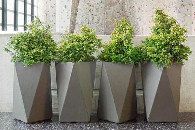 planters that midcentury west modern elm inspired mid century planter your home into life breathe will