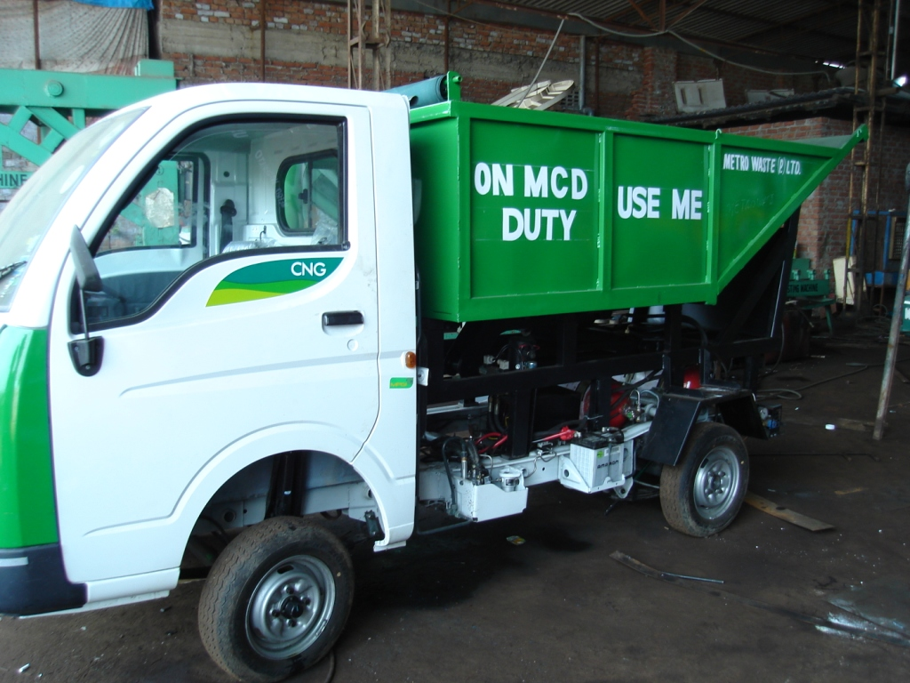 Garbage Hopper Manufacturer Offered By Usha Engineerings