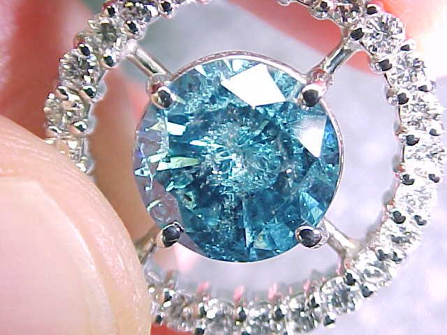 Treated Blue Diamond