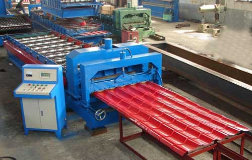 Buy Roofing Sheet Making Machine From Vishw Group India