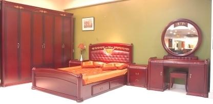 Classic Bedroom Furniture (AT-CT-817)