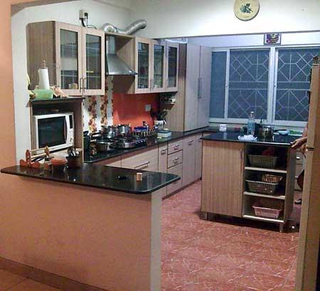 Services Kitchen Interior Designing From Bangalore Karnataka India