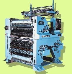 3 Colour Satellite Printing Machine