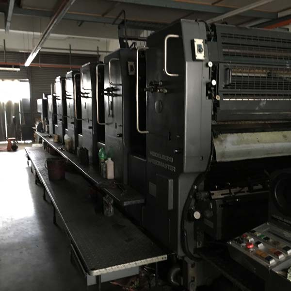 Sheet Fed Offset Printing Machine (Heidelberg SM 102-F+L)