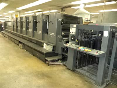 Used Heidelberg Sm 102 V , Sm 72 S LX Offset Printing Machine (MPS222)