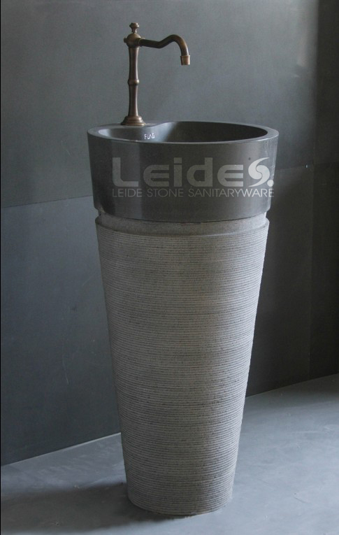 Cone Pedestal Sink Free Standing Basin LD F043 (LD F043)