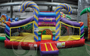 Candy Playland Moonbounce