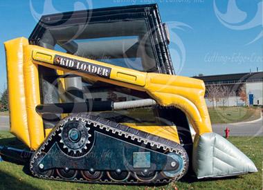 Inflatable Skid Loader Bouncer