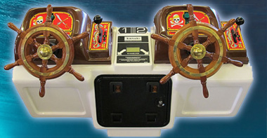 Pirates Plunder 32 Remote Control Pirate Ships