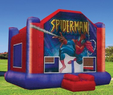 Spiderman Inflatable Moonbounce