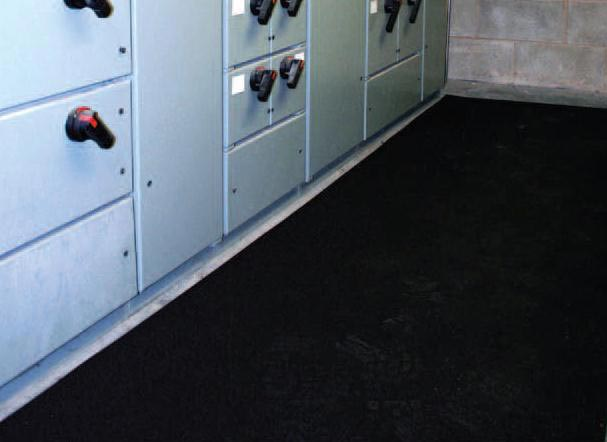 Rubber Mat Electrical Insulated Anti Skid Electricalinsulationmats As Per Is 15652