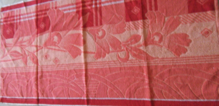 cotton jacquard terry towels